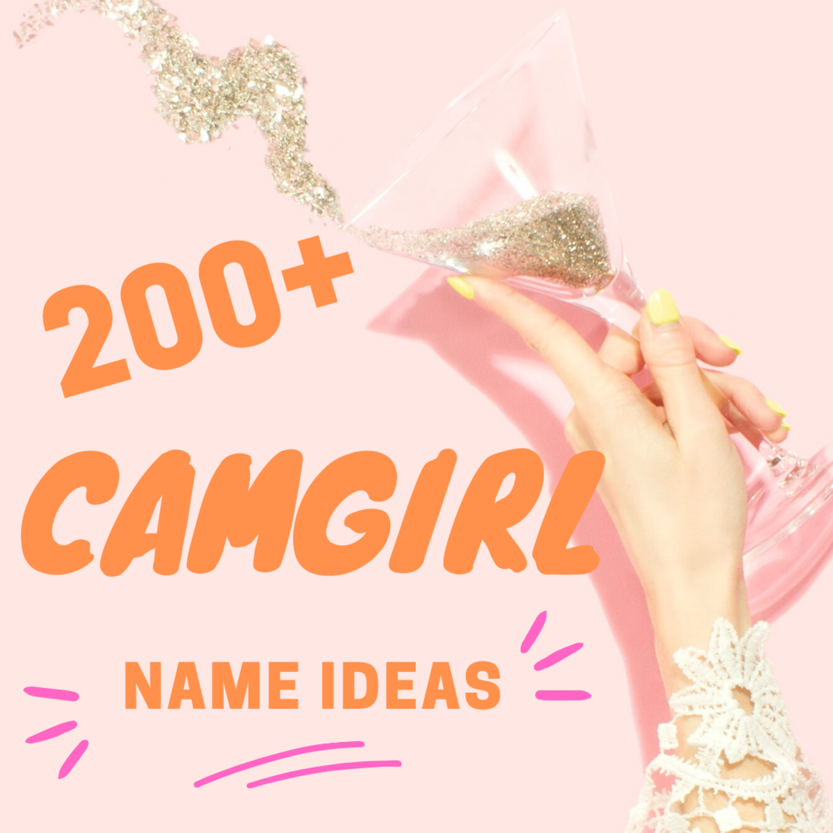 Cam-Girl Name Ideas to Get You Noticed