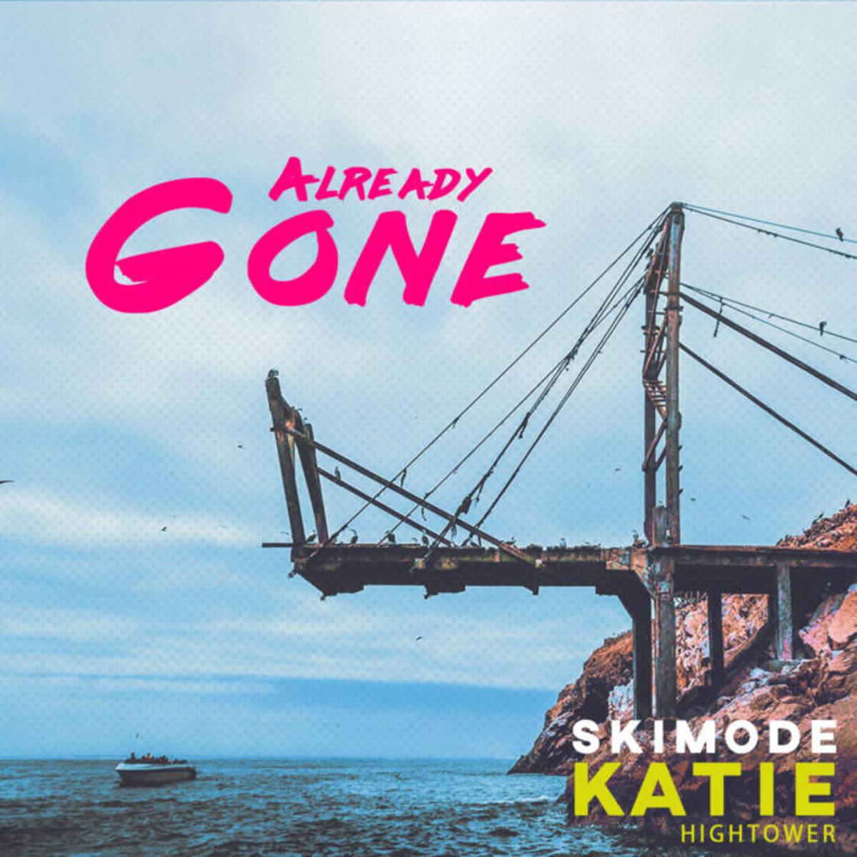 """Artwork for skimode's new single, """"Already Gone."""""""