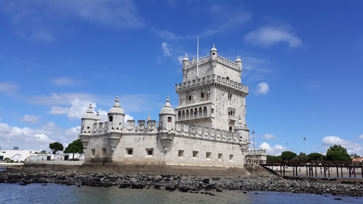 The tower of Belém.