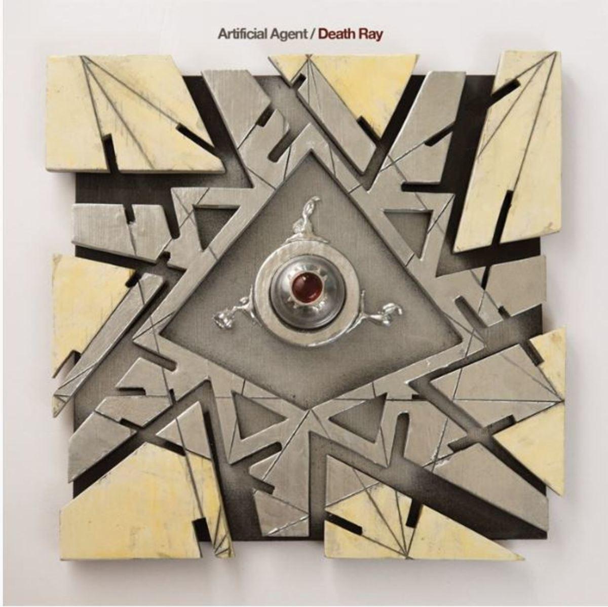 "Artificial Agent ""Death Ray"" album cover"