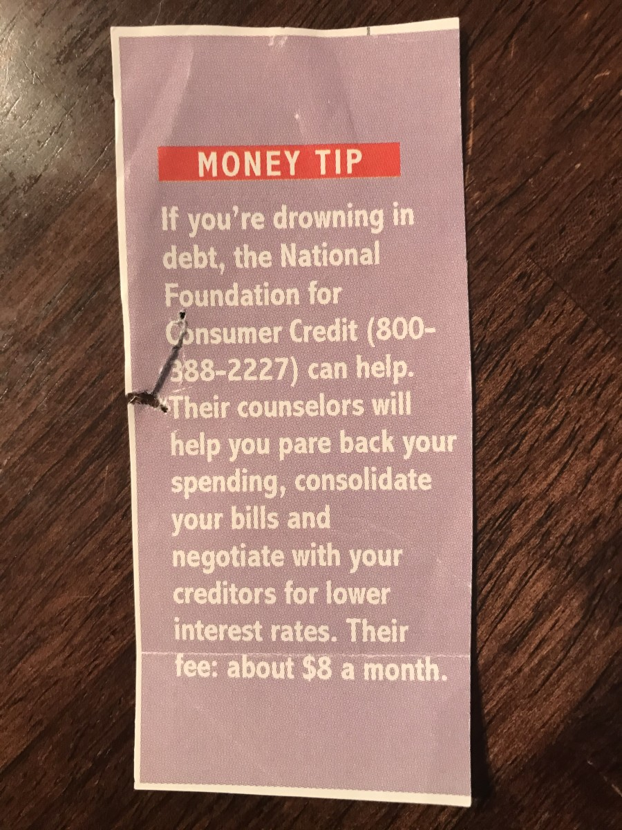 A newsletter clipping from 1998.  This service might cost a little more than $8/$10 today.