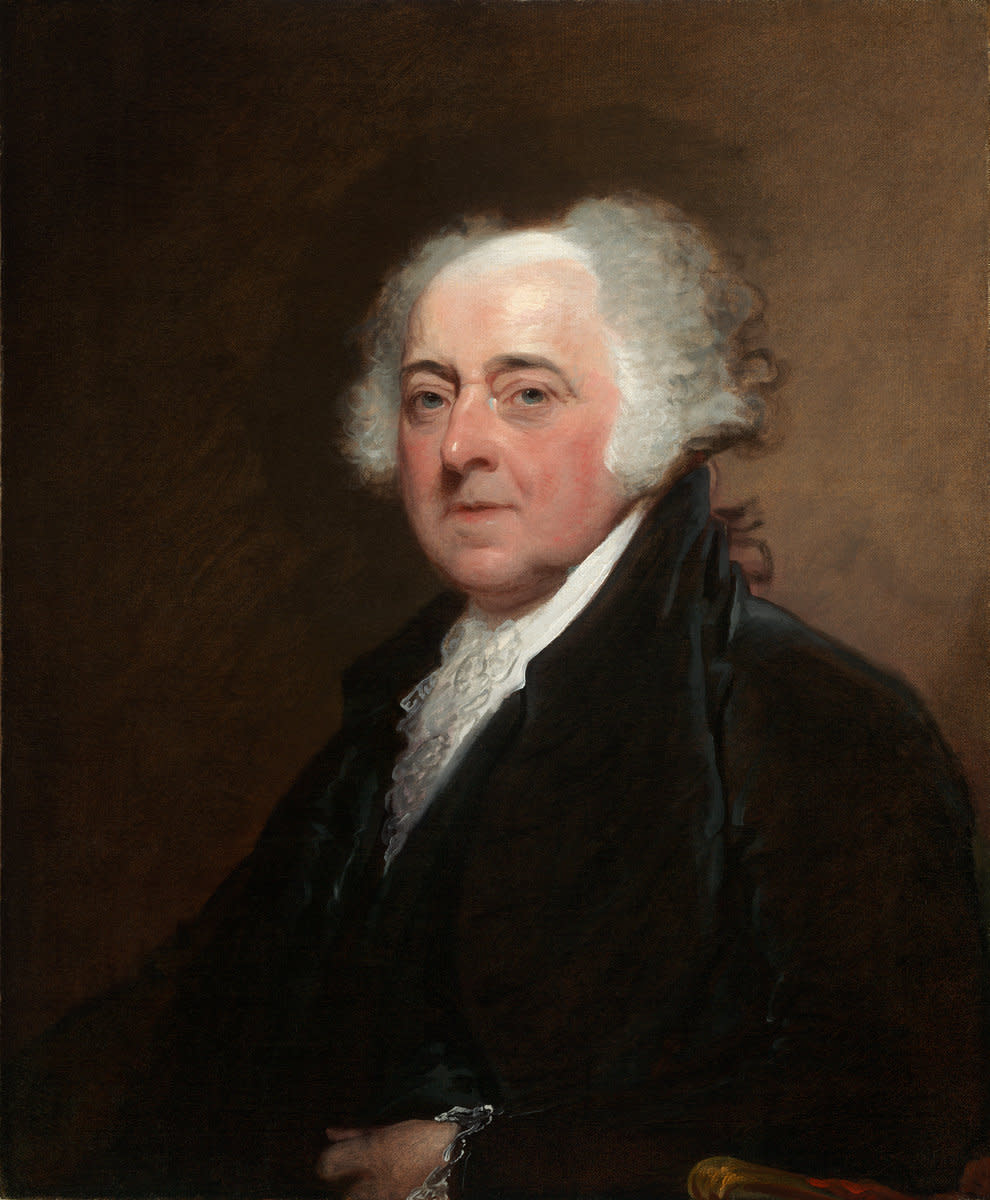 John Adams, President of the United States 1797-1801