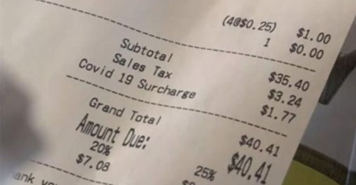 Some Businesses Are Adding a COVID-19 Surcharge to Your Bill