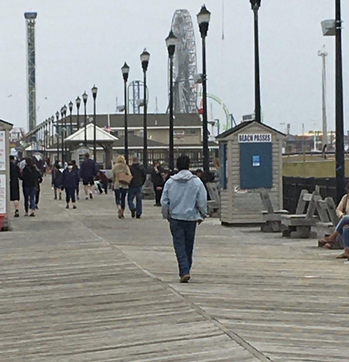 Seaside Boardwalk May 2020