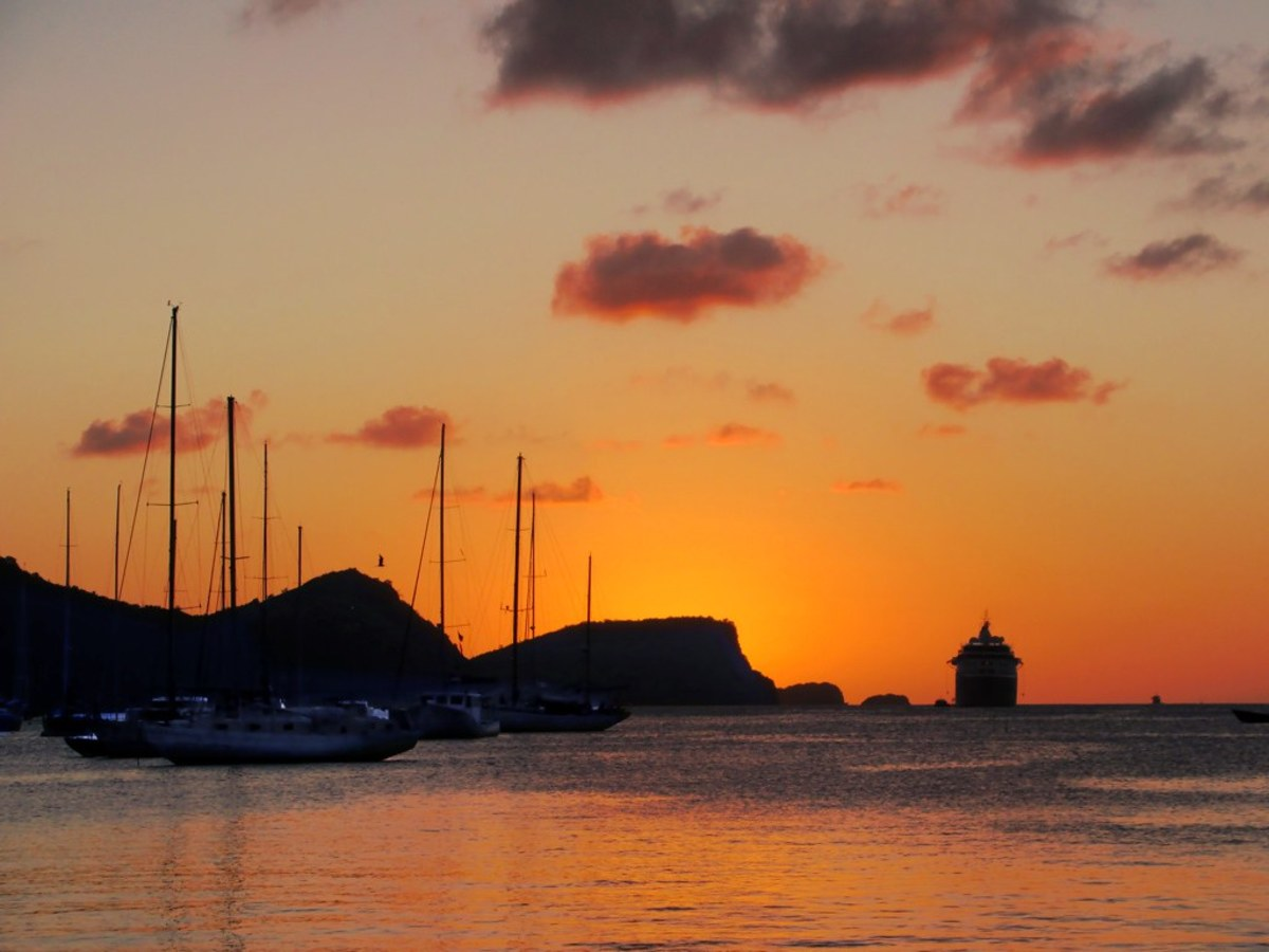 Bequia Island is part of the Grenadines