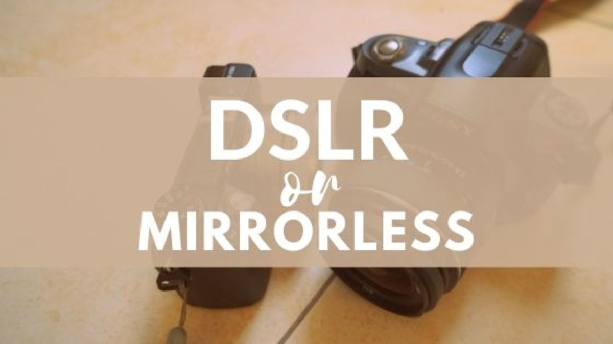 What's the Difference Between Mirrorless Cameras and DSLRs?