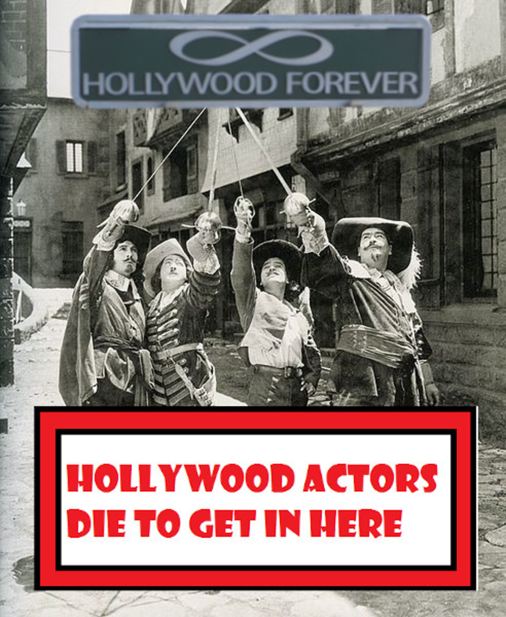 Visiting Hollywood Forever Cemetery (Actors Die to Get in Here!)