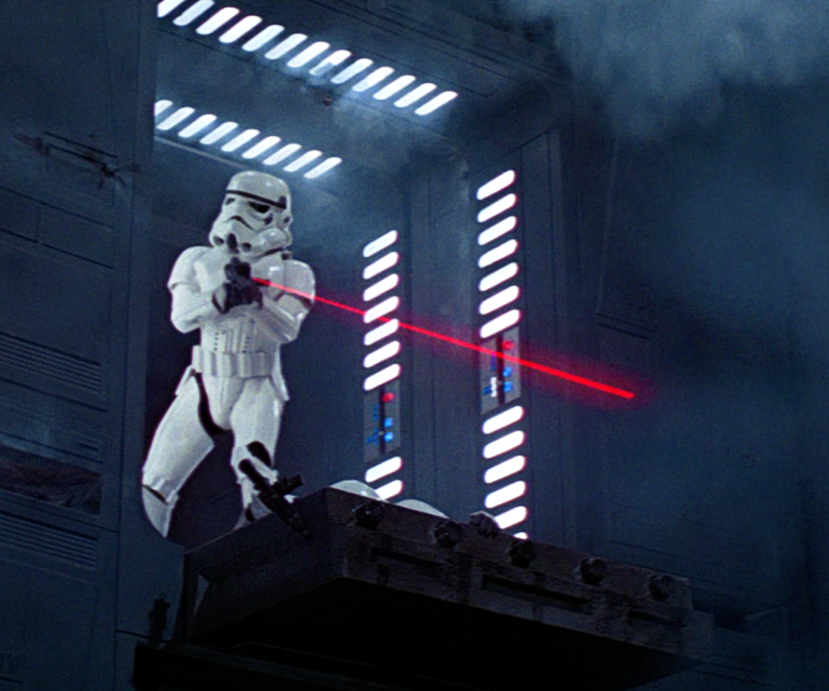 "Why Imperial Stormtroopers in ""Star Wars"" Actually Have Good Aim"