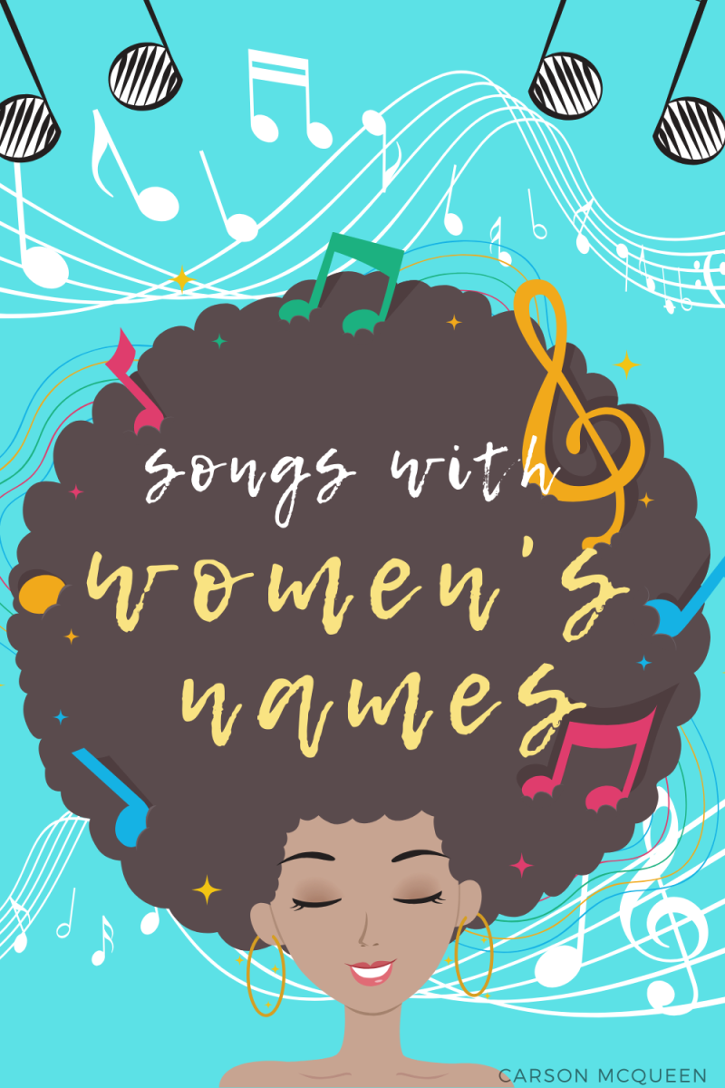 150+ Songs With Women's Names in the Title