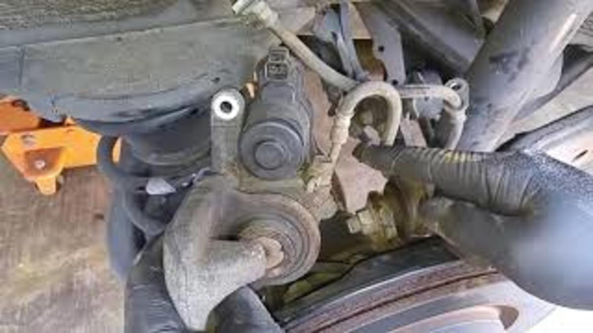 Replacing Rear Brake Pads on a Lexus RX350 That Has Electronic Parking Brakes (With Video)