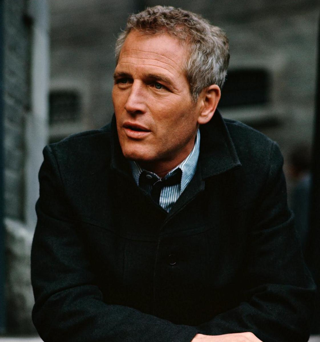 Behind Paul Newman's Seasoned Blue Eyes