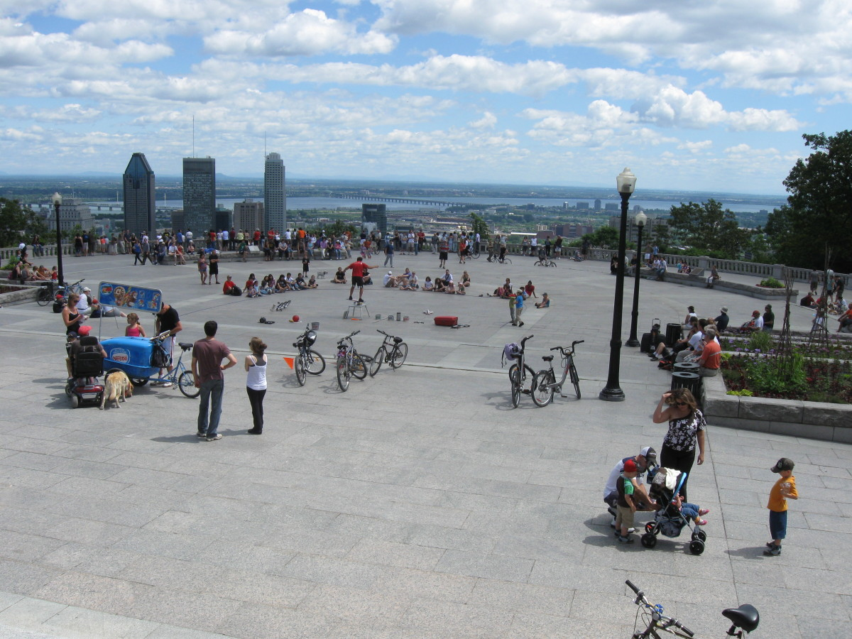 Mount Royal Park, Montréal, Canada