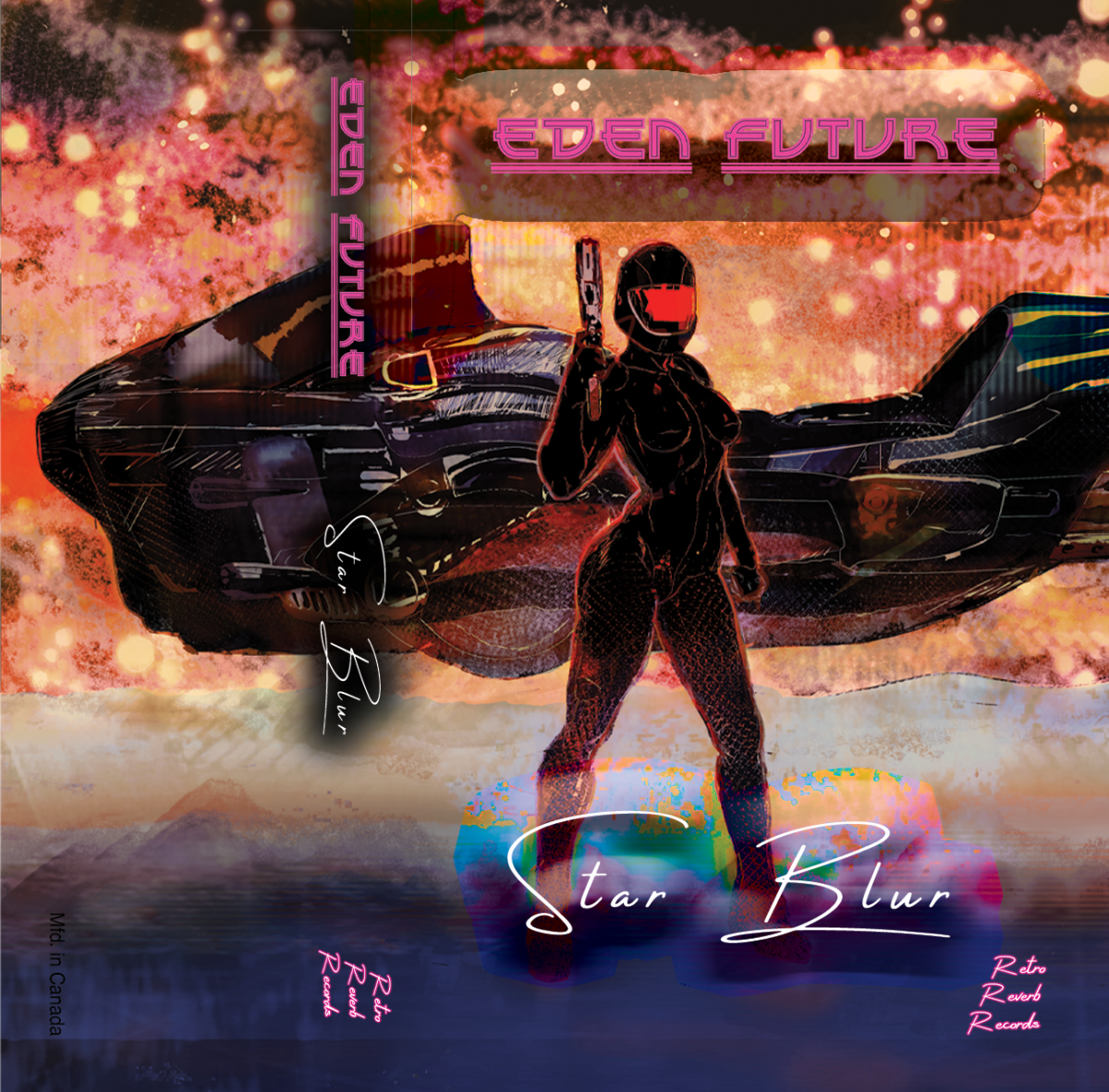"Artwork for ""Star Blur,"" by Eden Future"