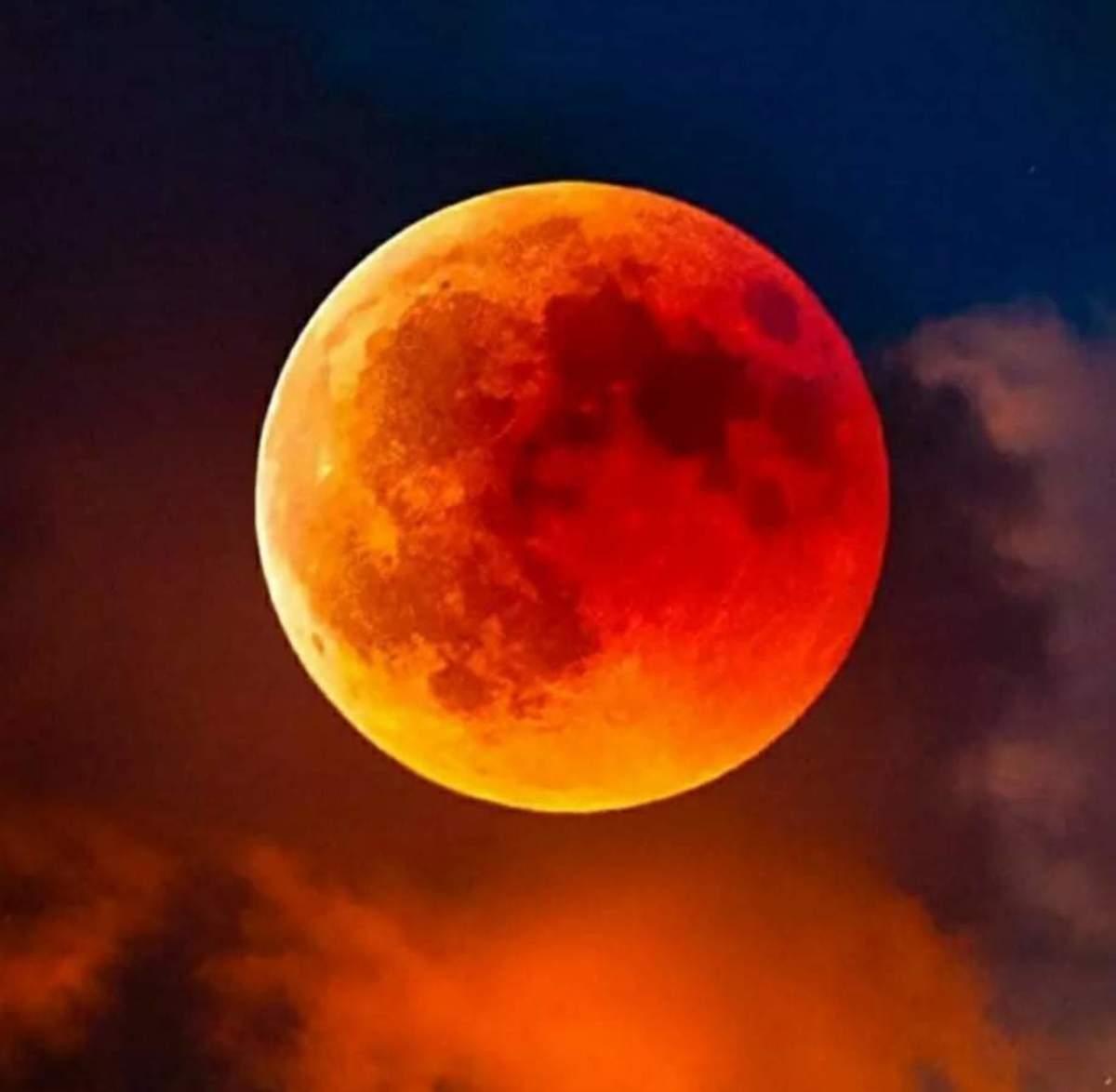 Red Moon - Haiku