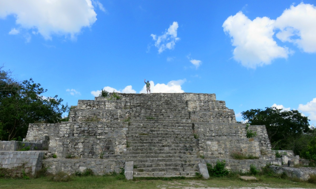 Visiting the Mayan Ruins of Dzibilchaltún in Mexico