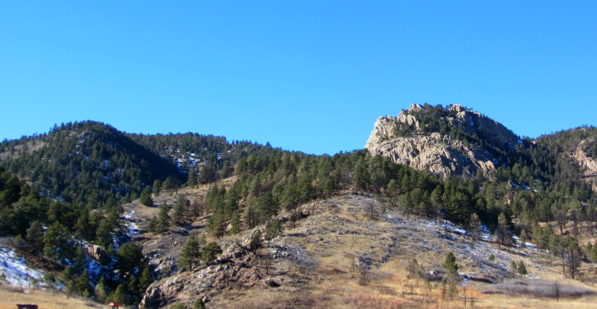 Arthur's Rock at Lory State Park in Colorado