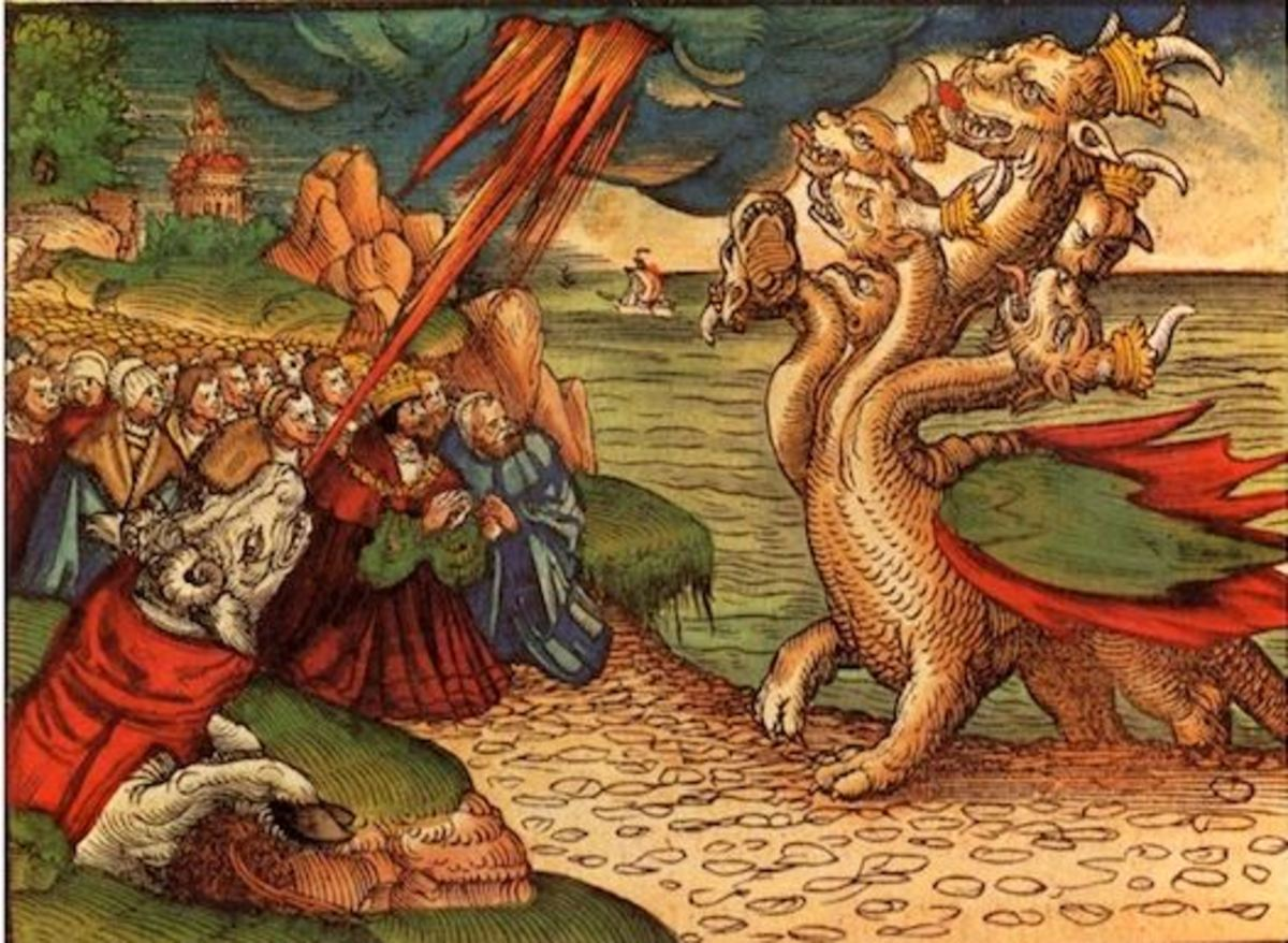 The Beasts from the Sea and the Earth (Revelation 13)