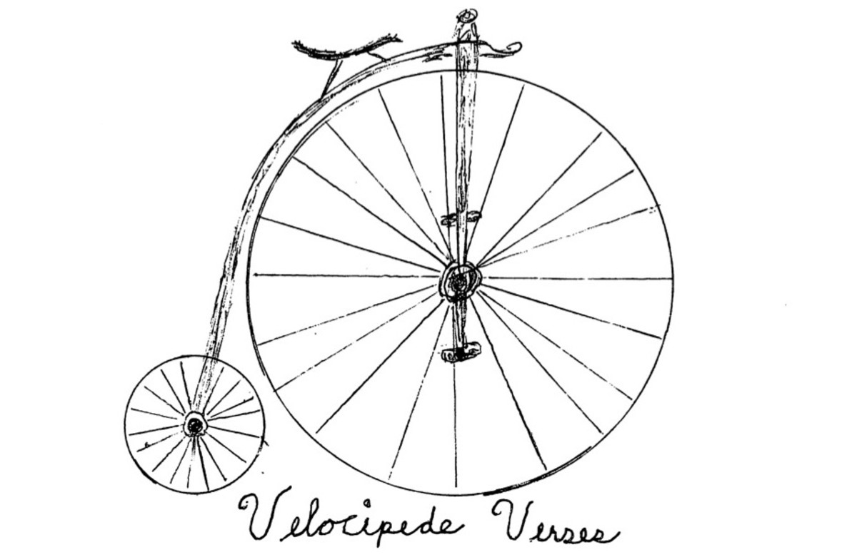 Velocipede Verses #4: Space and Race, Me and Time, Bikes and Life...and Truffles