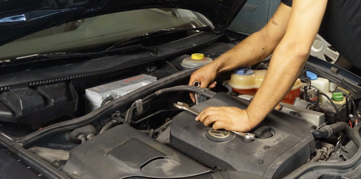 A car idling high may be caused by one or more common components.