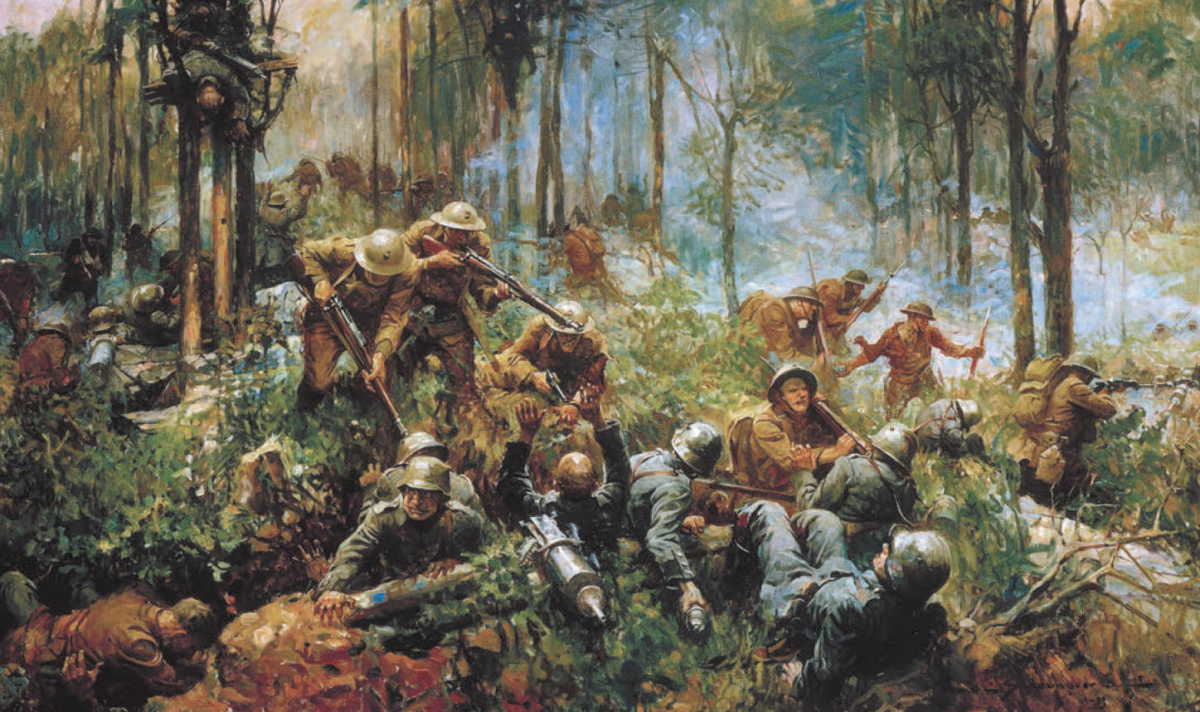 The Battle of Belleau Wood During WWI