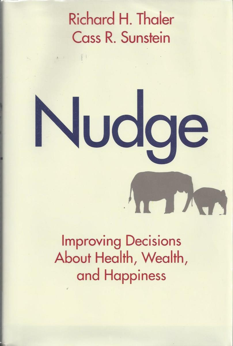 "The Book Cover for ""Nudge"""
