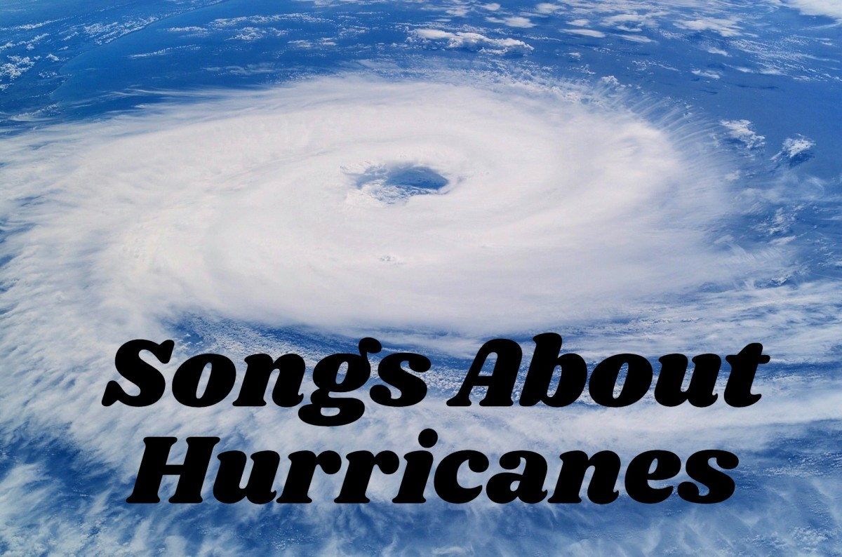 When a hurricane threatens to blow in, don't mess around. Rely on this hurricane playlist as you either shelter in place or evacuate to safety. We have a list of pop, rock, and country songs about hurricanes to help you weather the storm.