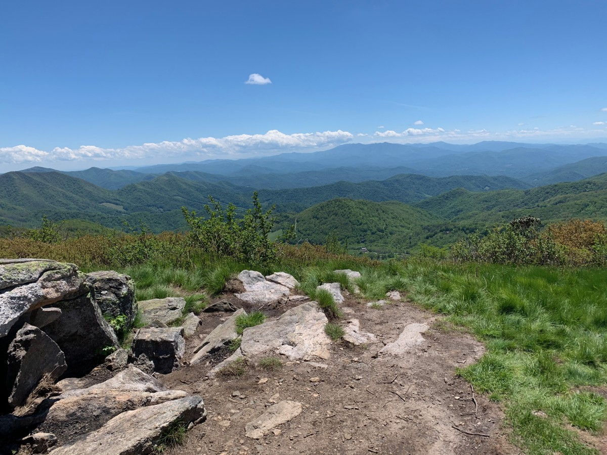 Appalachian Trail - Carvers Gap to Watauga Lake