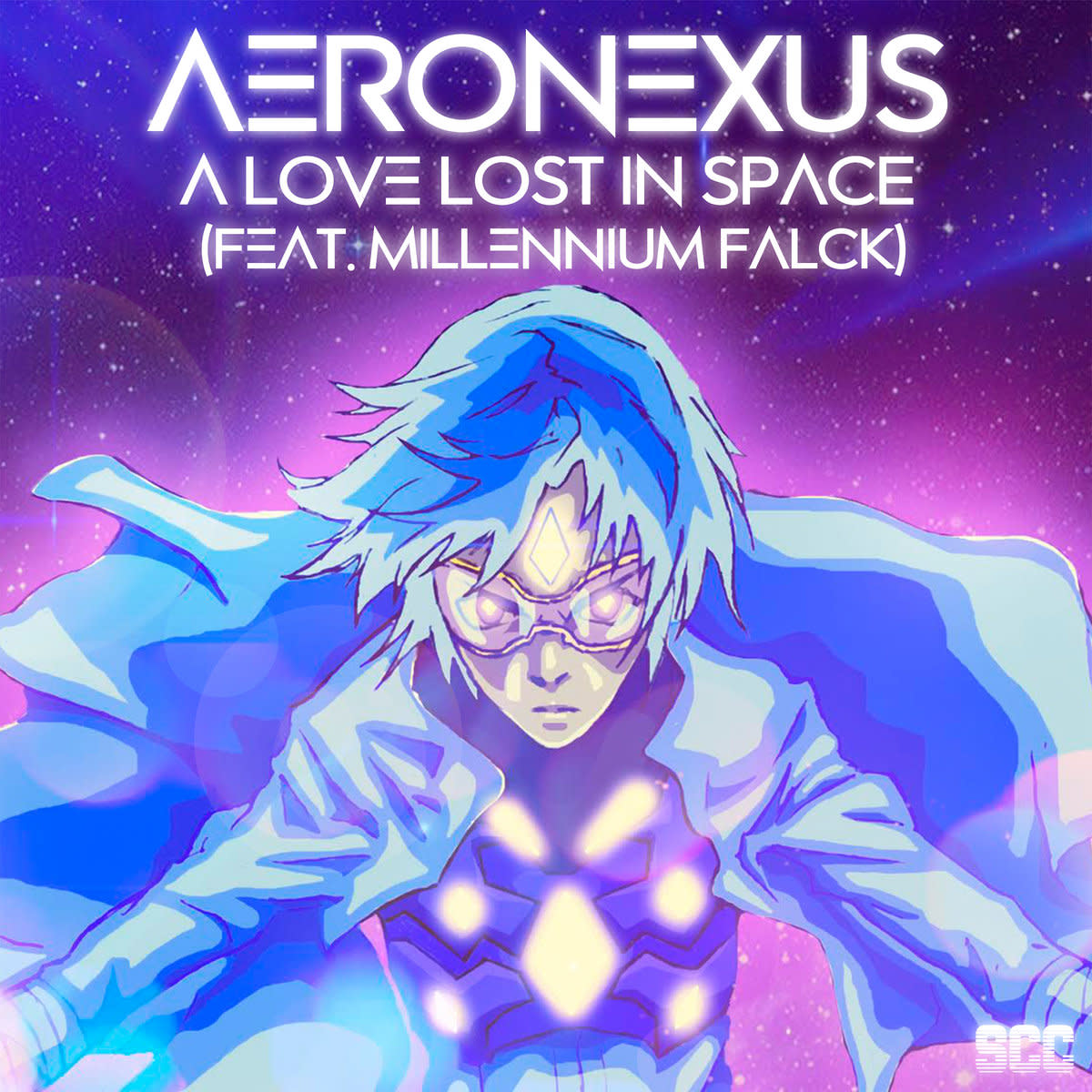"""Artwork for the Single, """"A Love Lost in Space,"""" by Aeronexus and Millennium Falck"""