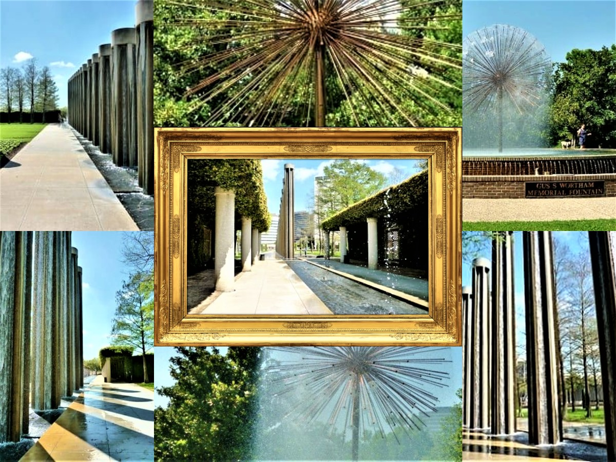Gus and Lyndall Wortham Park, and Wortham Fountain: Comparing Both Houston Sites