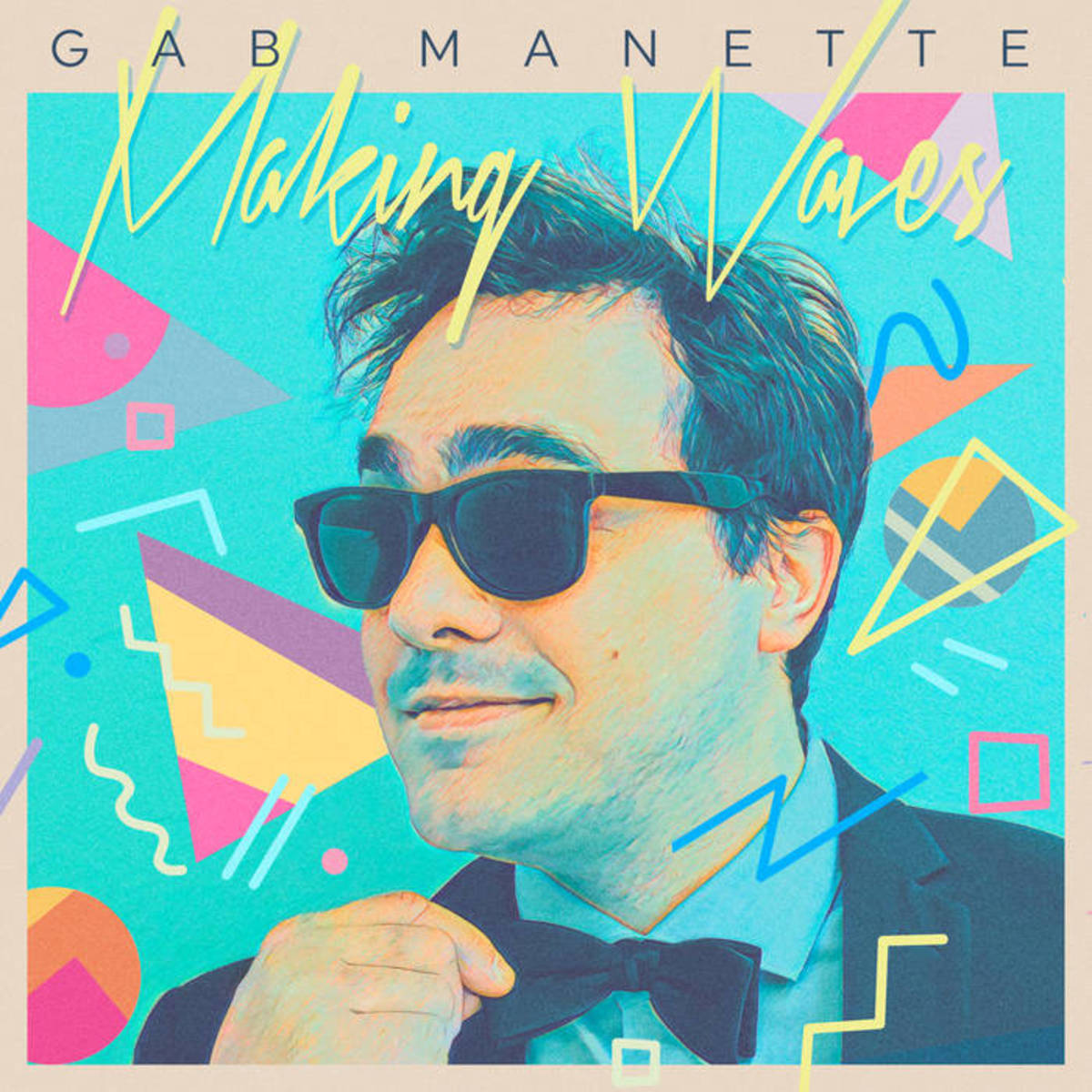 "Album artwork for ""Making Waves,"" by Gab Manette"