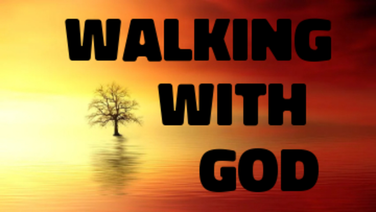 Poem: Walking with God