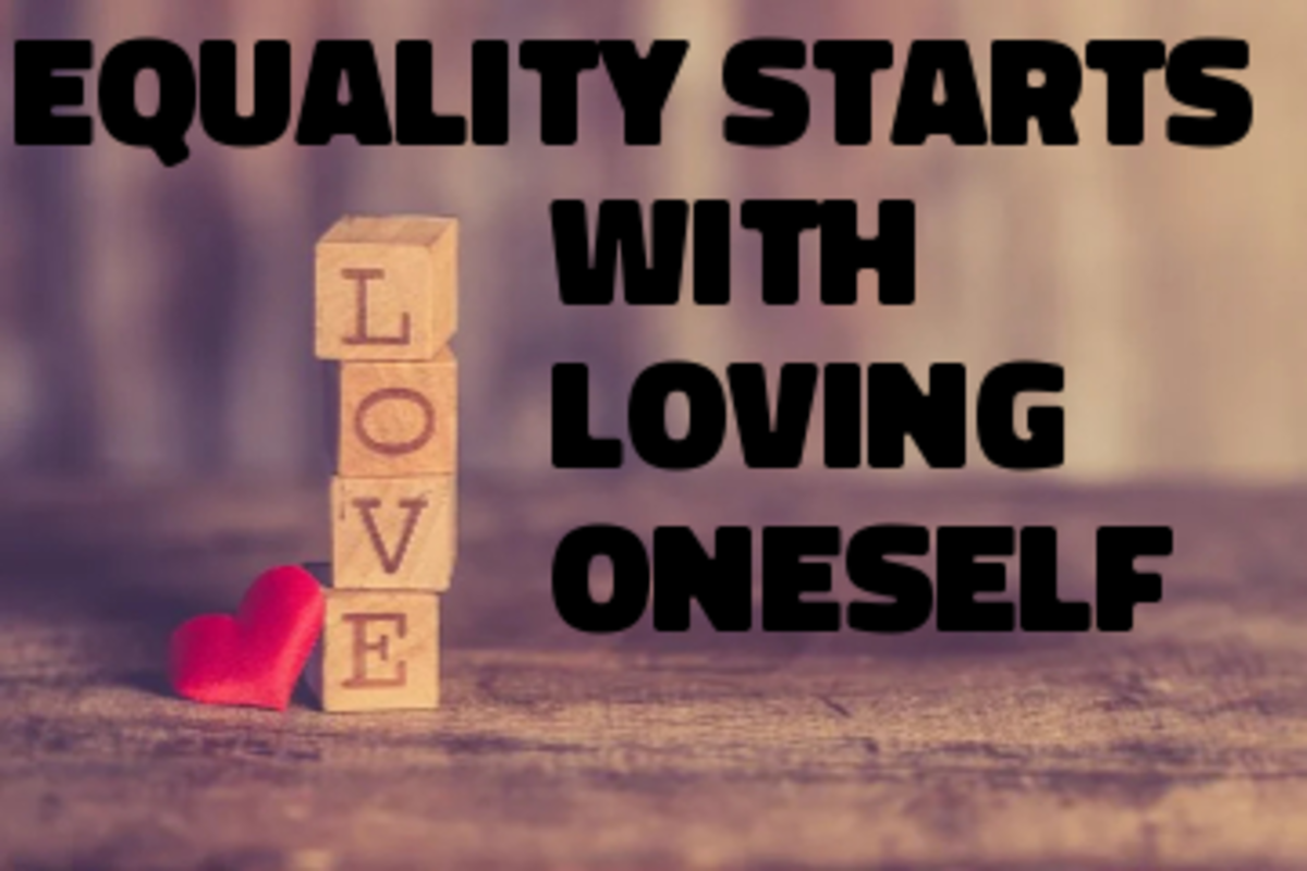 Poem: Equality Starts With Loving Oneself