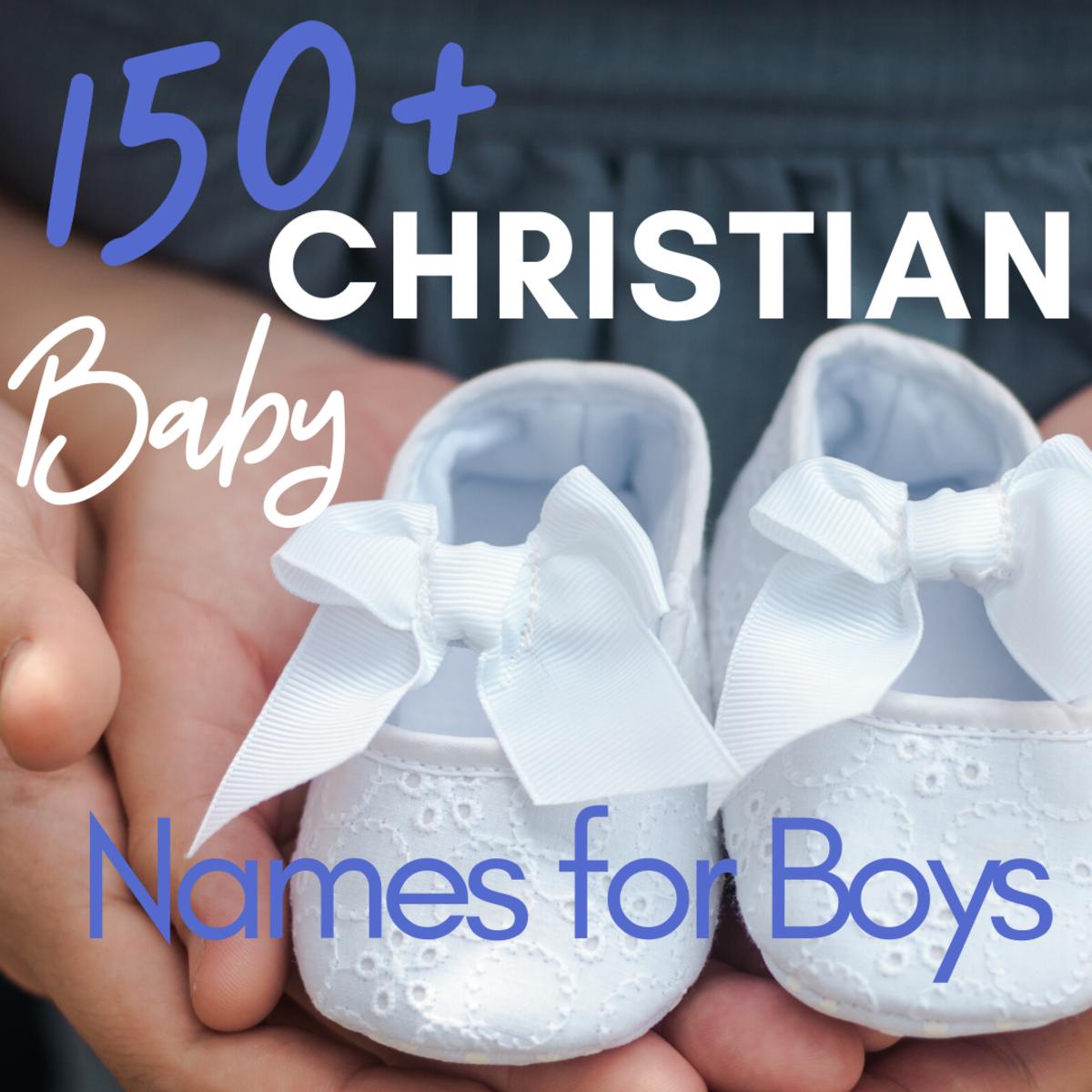 Christian Baby Names for Boys