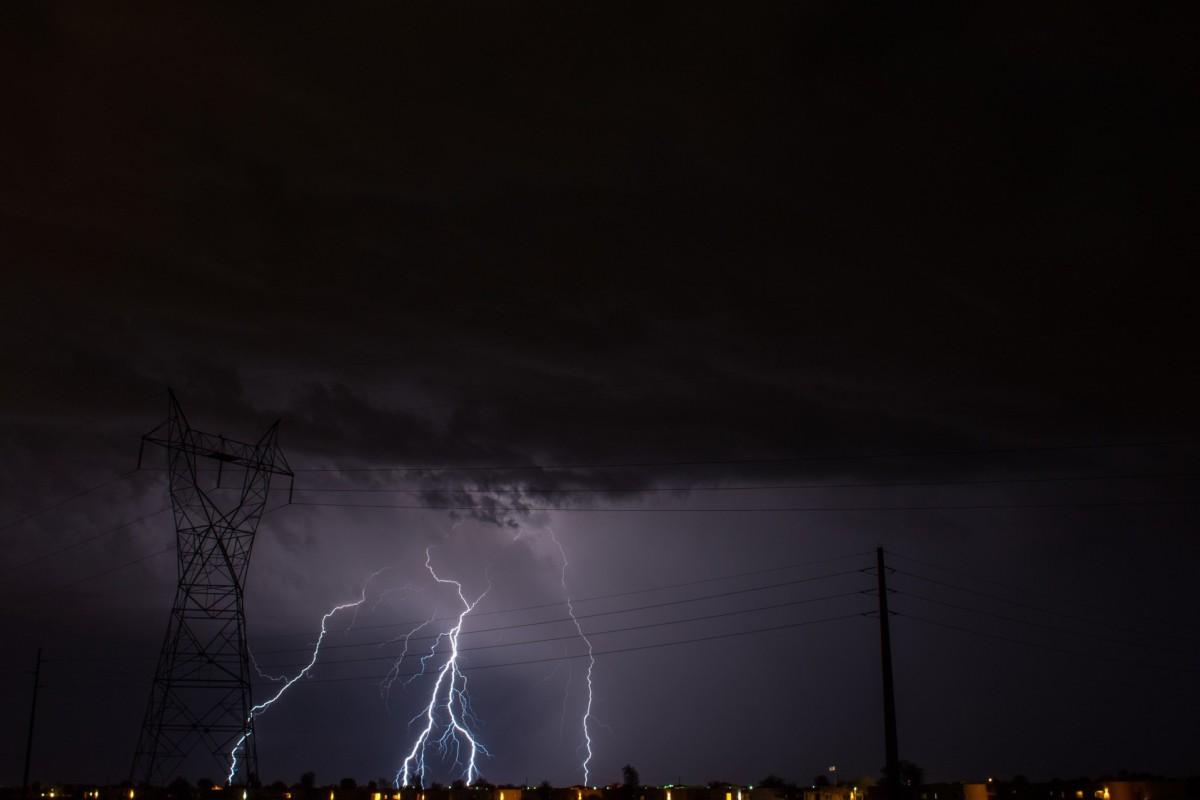 Blinding Thunderstorm