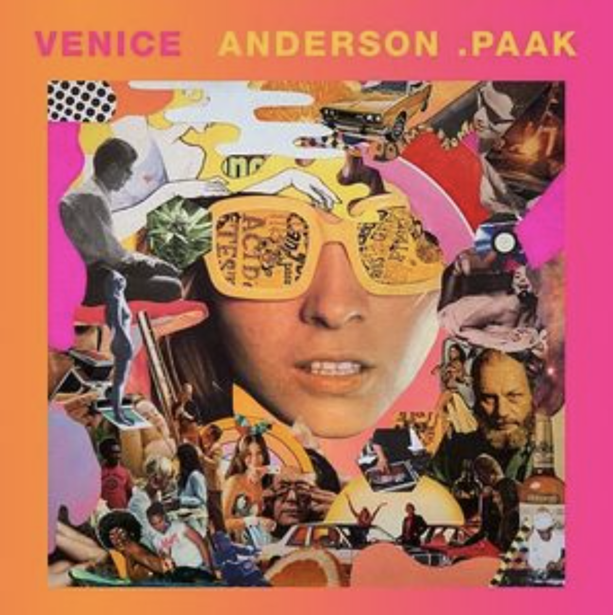 "Album cover for ""Venice,"" by Anderson Paak"