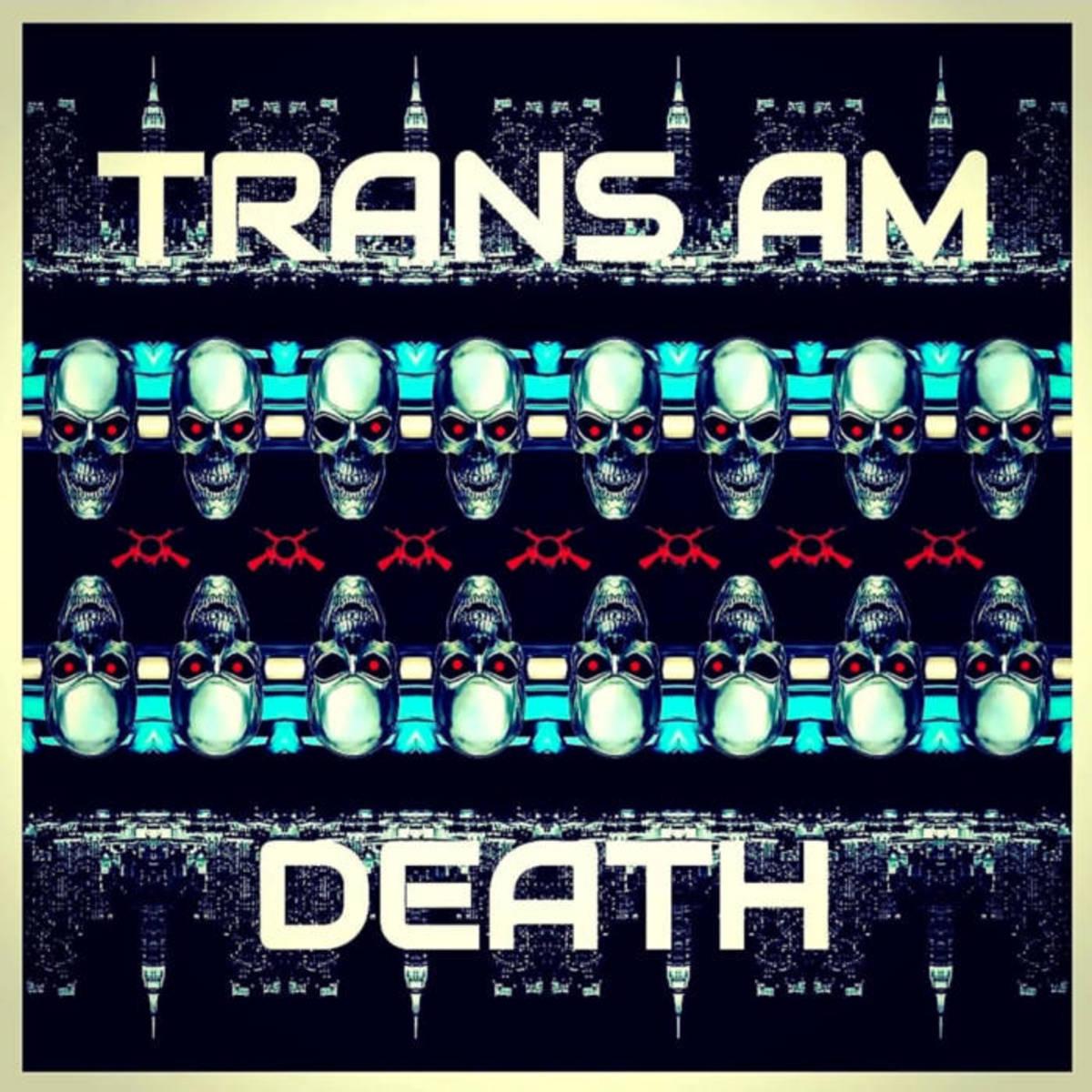 """Album artwork for """"Trans Am Death"""" by Daniel Adam."""