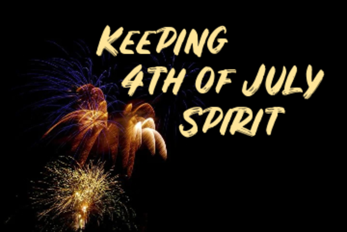 Poem: Keeping 4th of July Spirit
