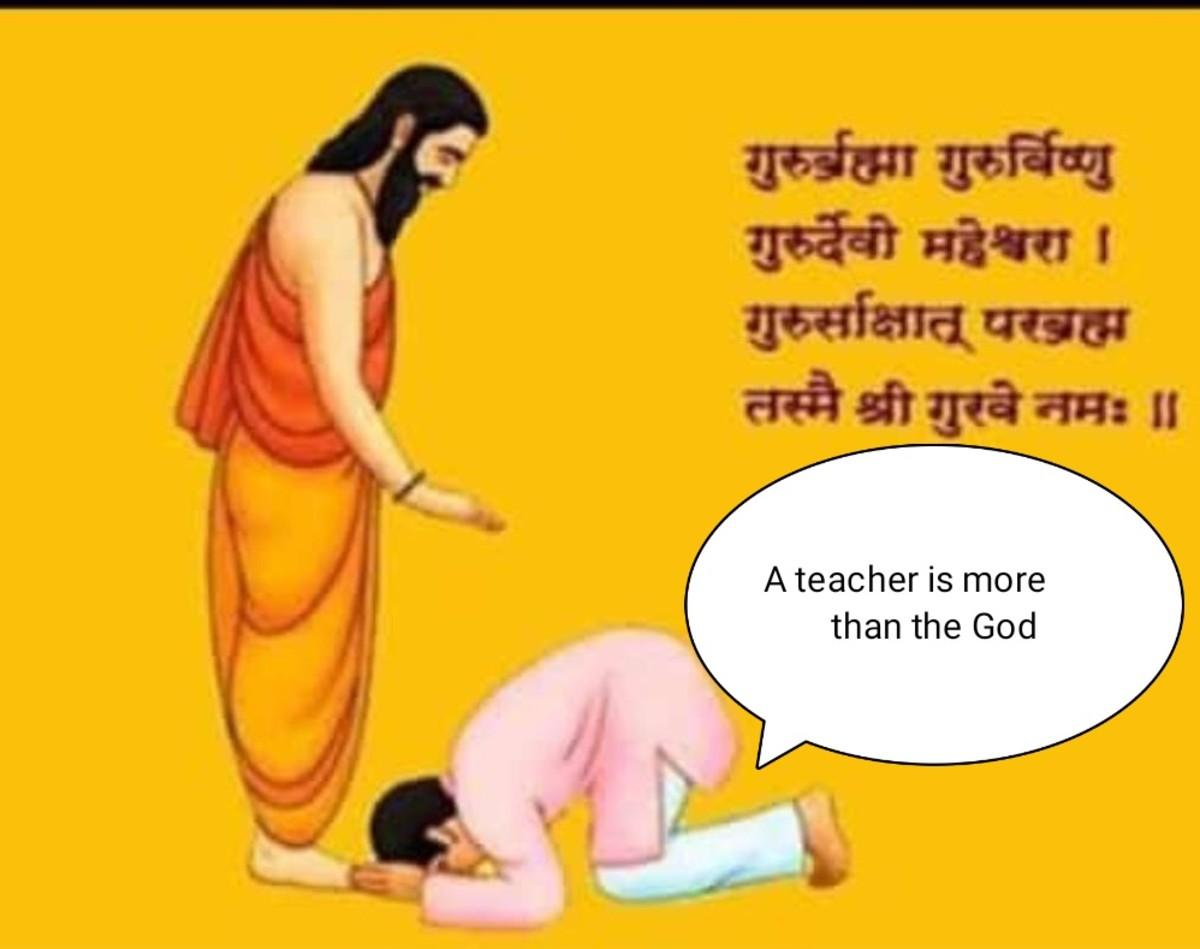 Gurupurnima:a Gratitude to the Teachers