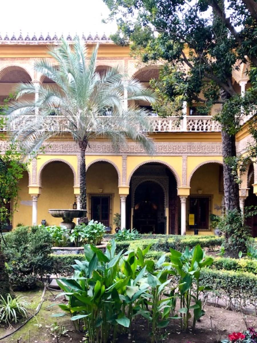 The Enchanting Courtyard