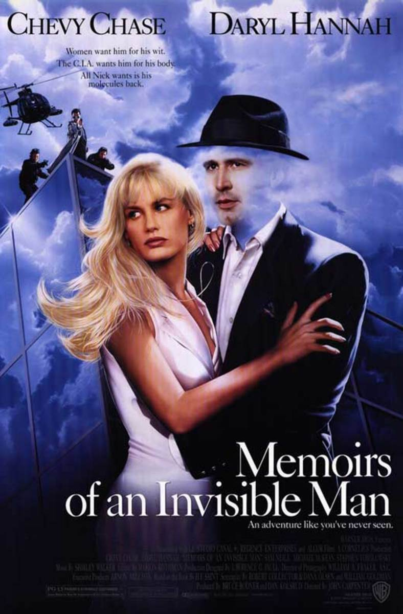 'Memoirs of an Invisible Man' (1992) A Never Before Seen Movie Review
