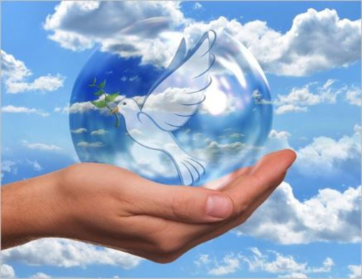 Inspirational Writing To Encourage Peace