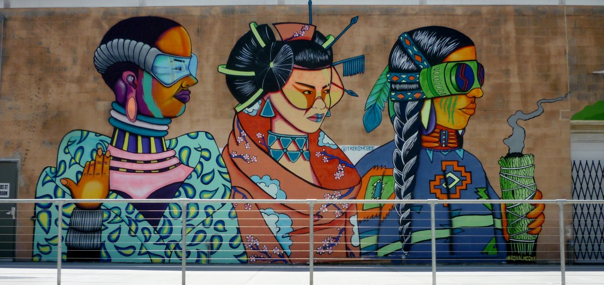 Silver Street Studios in Houston: Fun and Quirky Exterior Murals
