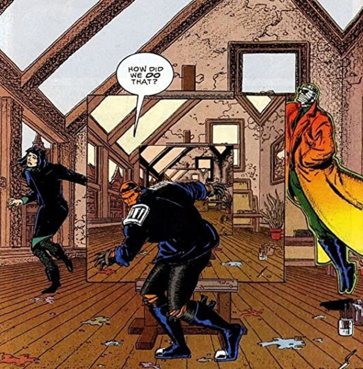 The Nature of Reality and Doom Patrol