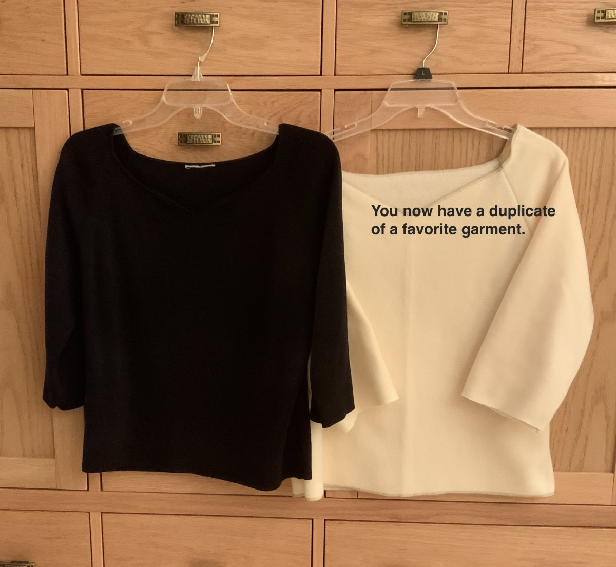 How to Duplicate or Copy a Favorite Garment