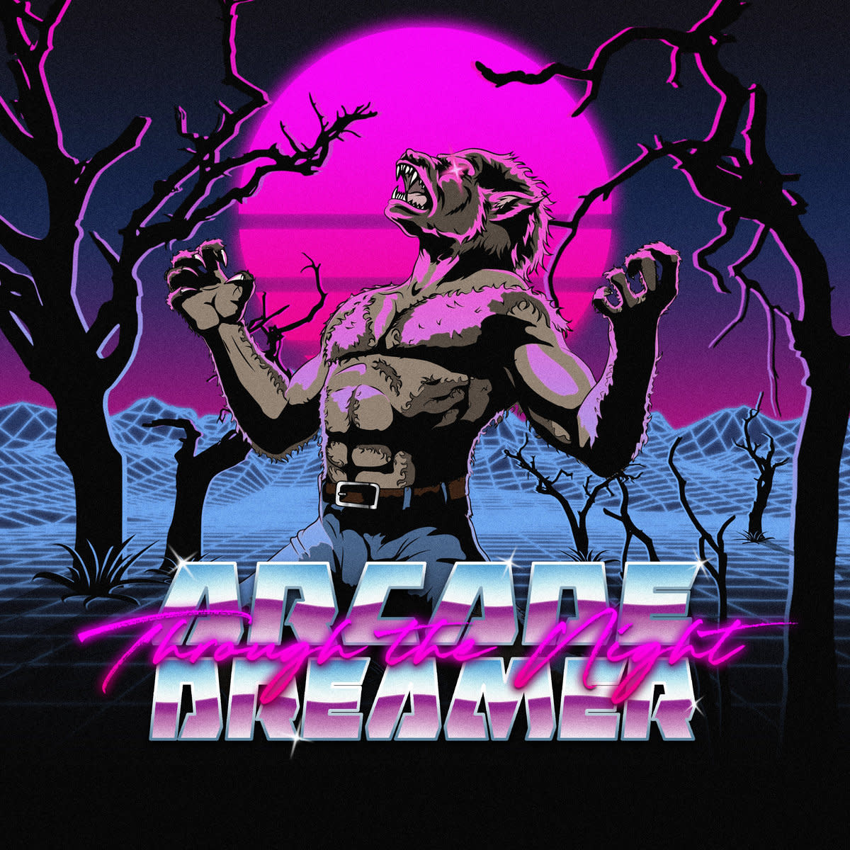 synthwave-single-review-through-the-night-by-arcade-dreamer