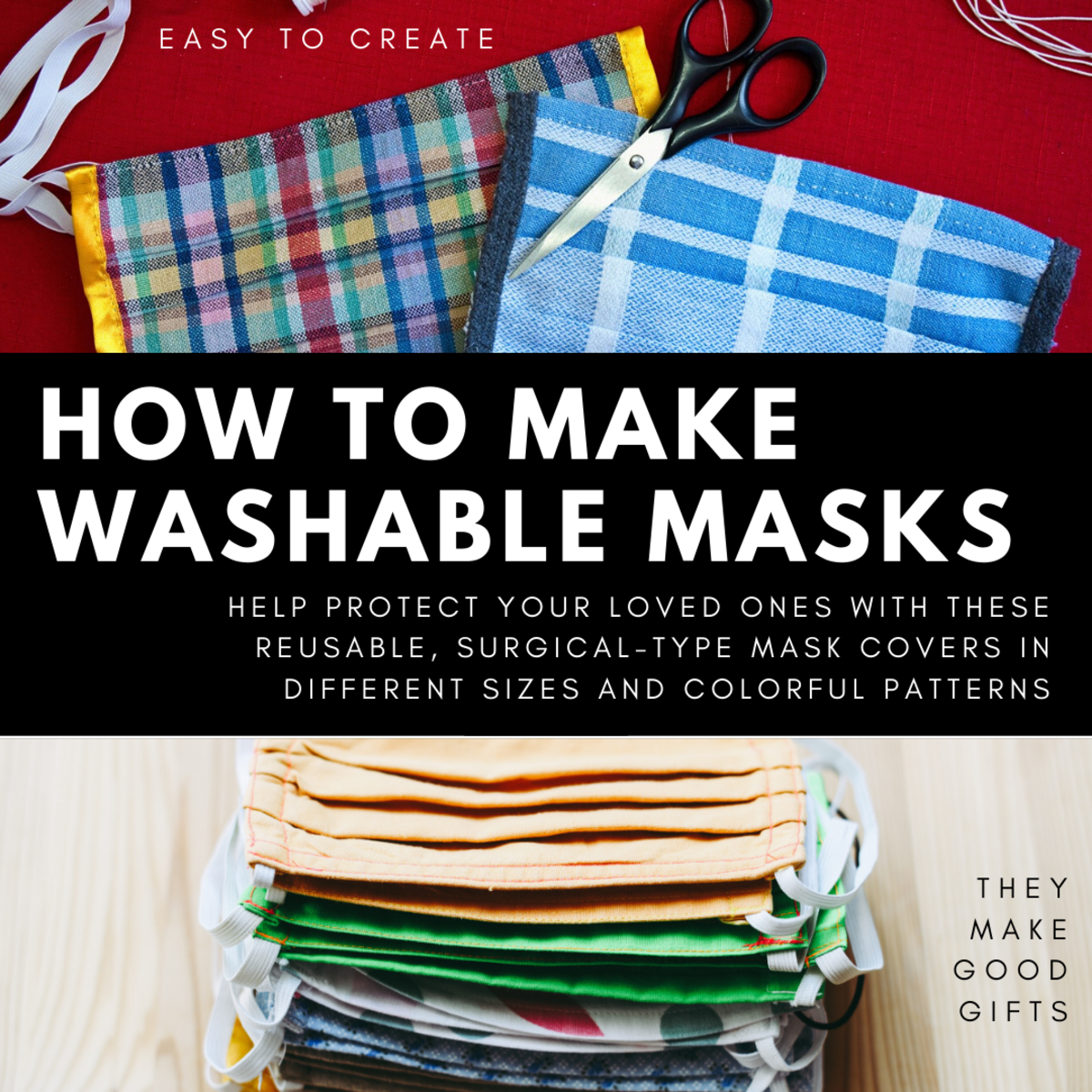 How to Make a Washable, Surgical-Type Mask Cover With Multi-Sized Patterns