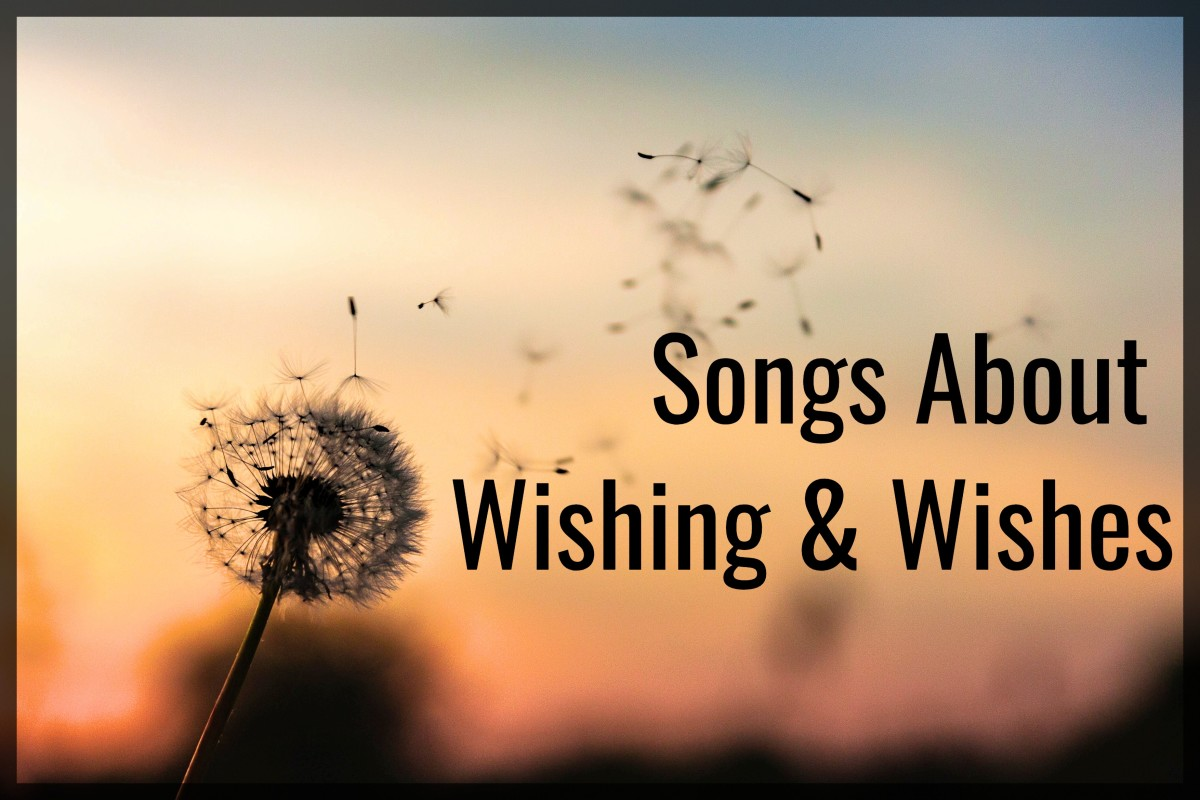 You have to wish for what you want before you can make it come true. Make a playlist of pop, rock, country, and R&B songs about wishes and wishing.