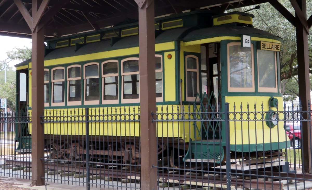 """The """"Toonerville Trolley"""" in Paseo Park"""