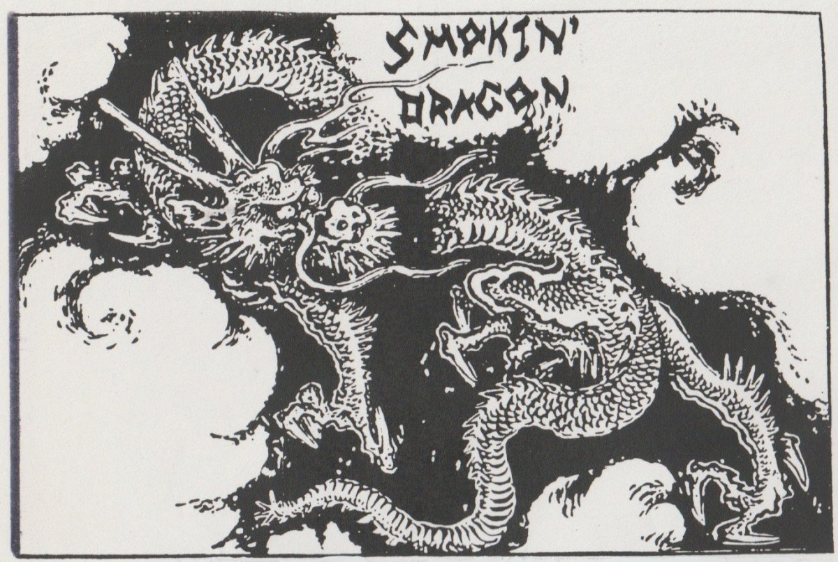 """Smokin' Dragon"" Zine: Revisiting Issues 1 to 7."