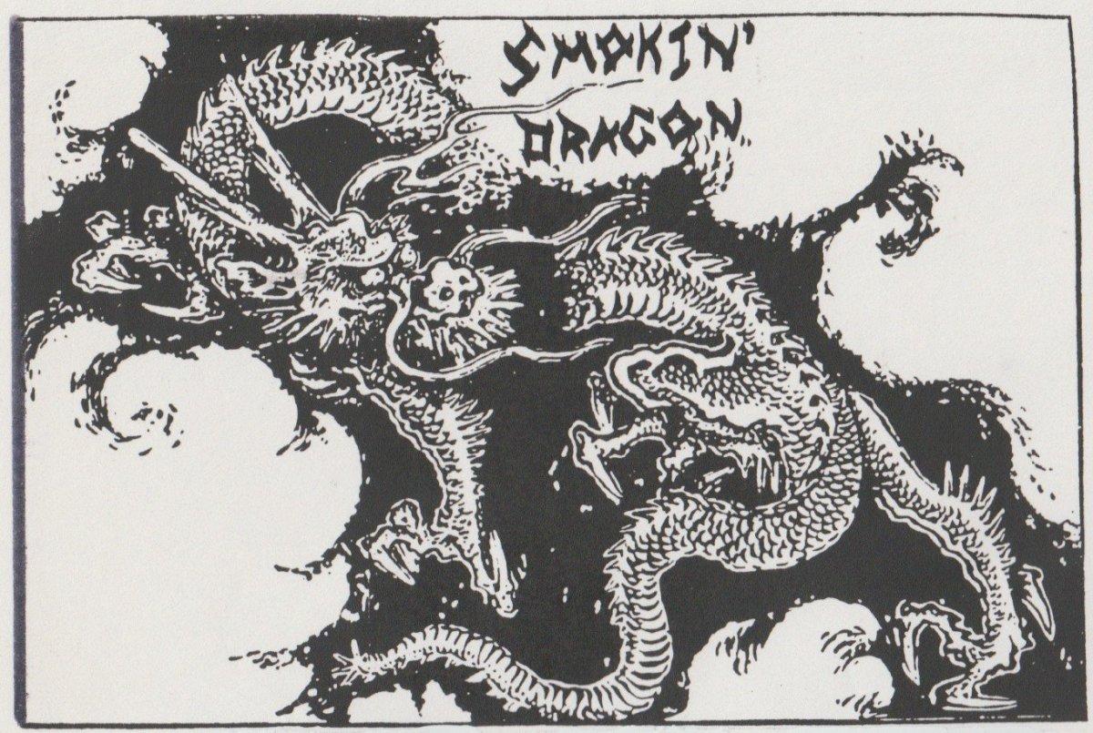 Smokin' Dragon logo